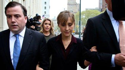 Allison Mack fue acusada por haber pertenecido a esa secta y haber reclutado a otras actrices (Shuterstock)