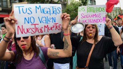 La marcha más grande de Chile (AFP)