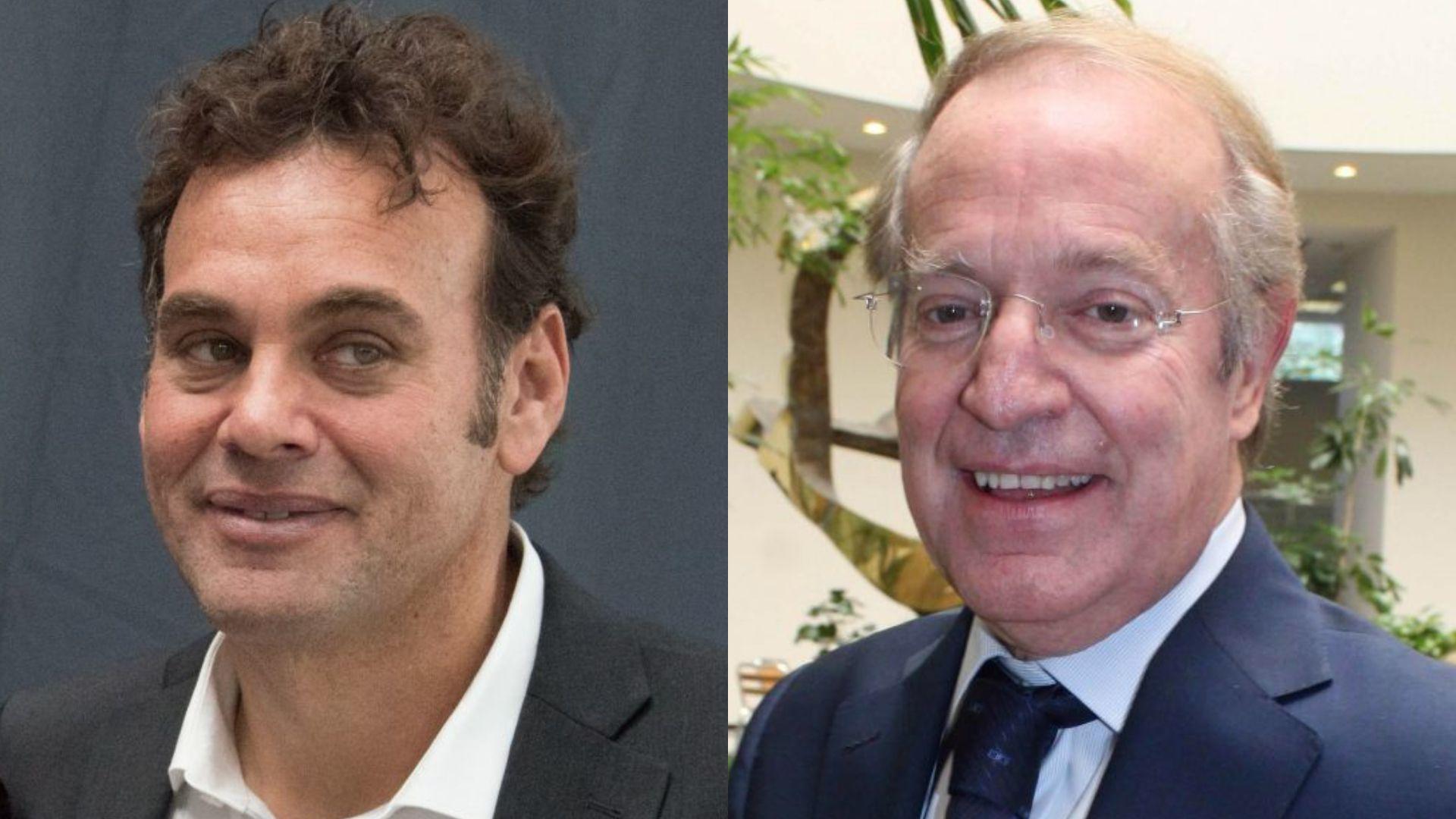 David Faitelson y José Ramón Fernández (Foto: Cuartoscuro)