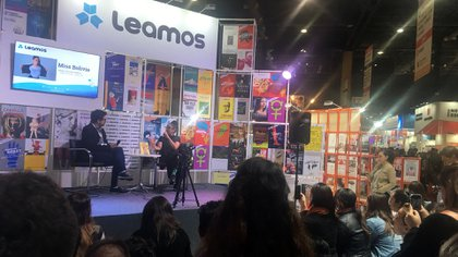 Miss Bolivia en Leamos (Foto: Mariana Kozodij)