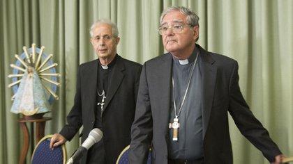 El presidente de la Conferencia Episcopal Argentina, monseñor Oscar Ojea (Foto: NA)