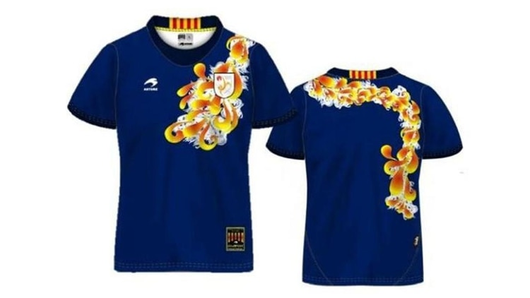 d375dbf73a53a Los diseños más excéntricos de camisetas de fútbol - Infobae