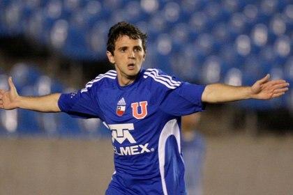 Walter Montillo, jugador de la Universidad de Chile