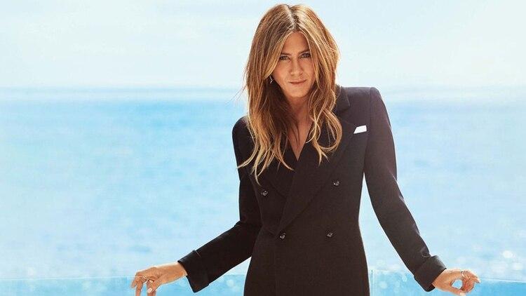 Jennifer Aniston también ha tenido sensuales encuentros a bordo de un avión