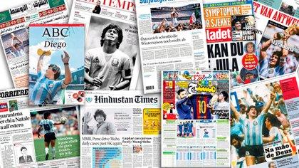 Las portadas del jueves de los principales diarios del mundo