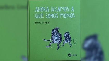 Ahora jugamos a que somos monos, de Barbro Lindgren. Traducido por Pontus Sánchez Giménez. Malasia: Niño editor, 2020.