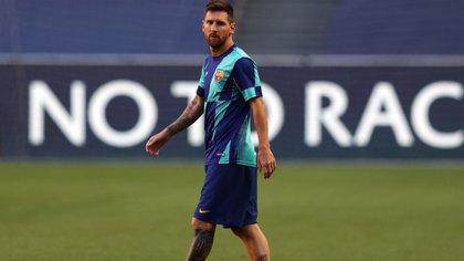 Pese a su deseo de emigrar, Lionel Messi continuará en Barcelona (Foto: EFE)