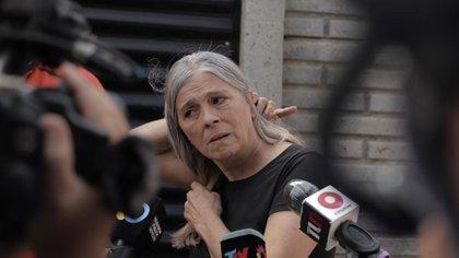 Patricia, la madre de Úrsula, que denunció la violencia de Martínez