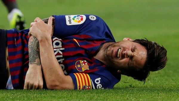 (Reuters) Messi se perderá el clálsico por lesión