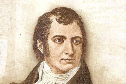 Juan José Castelli, enviado por Moreno para ejecutar la sentencia de fusilamiento de Liniers.