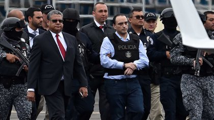 Borges fue detenido el pasado 5 de junio de 2017 a las 20:00 horas en Panamá (Foto: AFP / Rodrigo Arangua)