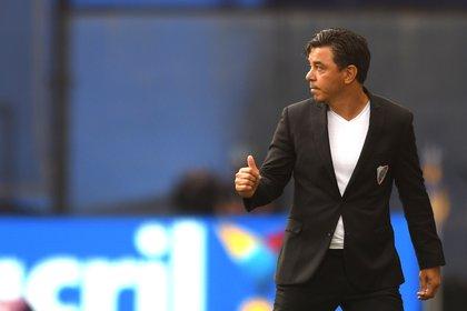 Marcelo Gallardo, uno de los máximos ídolos de River (EFE/Marcelo Endelli)