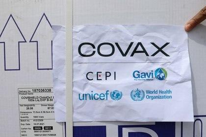 Vacunas del mecanismo Covax (REUTERS/Feisal Omar)