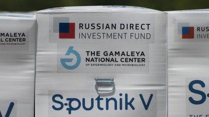 Las vacunas rusas que llegaron a Ezeiza para completar la segunda dosis de la Sputnik V contra el COVID-19
