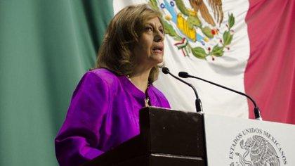 La senadora festejó la condena porque sienta un precedente en el combate a la violencia política contra las mujeres (Foto: Cuartoscuro)