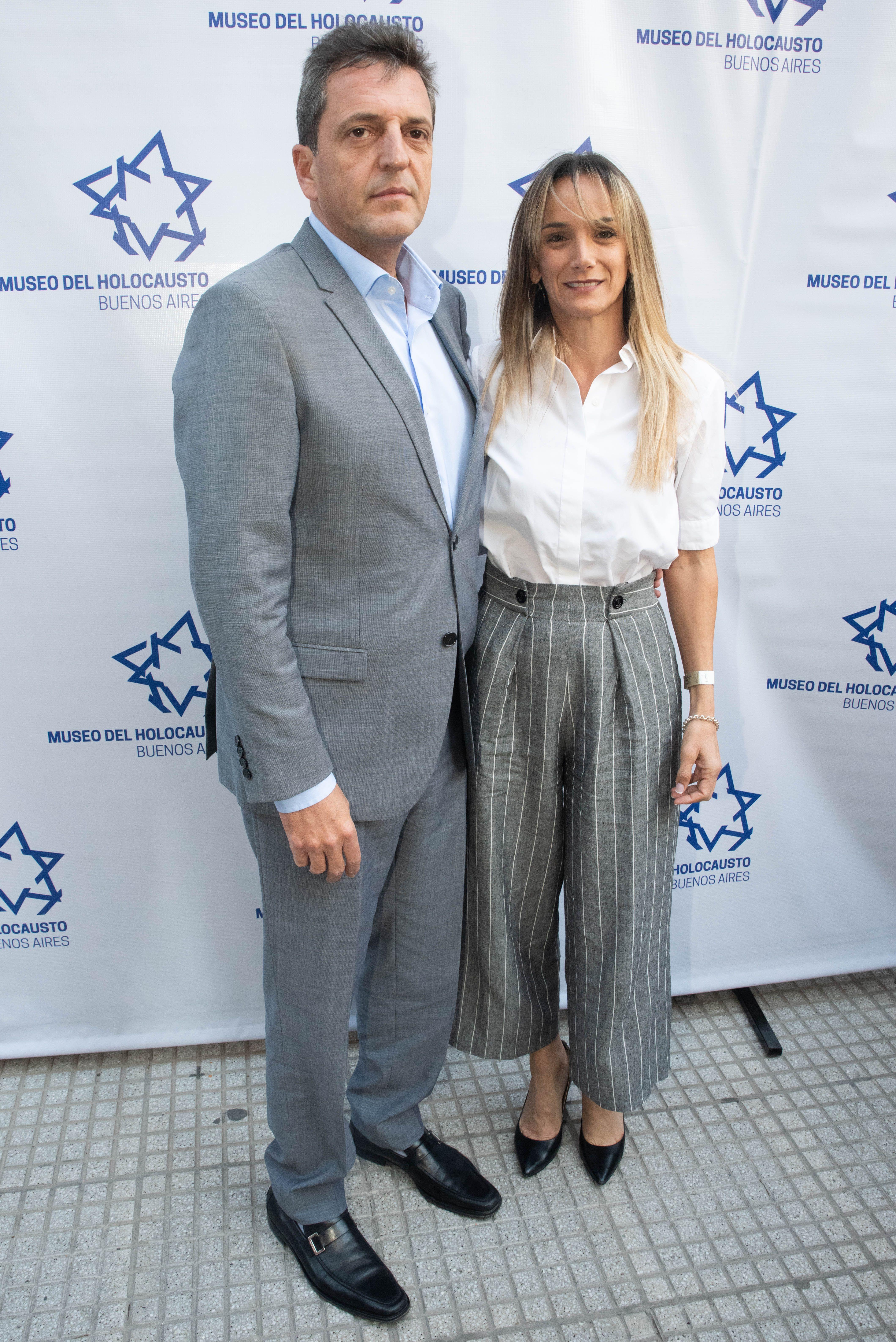 Malena Galmarini está junto a Sergio Massa desde que tenía 21 años