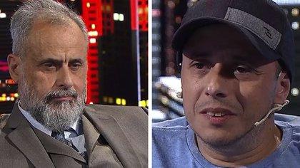 """El Dipy debatió mano a mano con Jorge Rial: """"Prefiero ser un pobre honesto y no un rico miserable"""""""