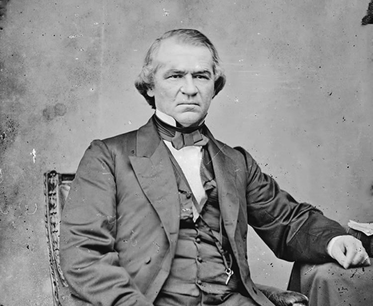 Andrew Johnson, fue el decimoséptimo presidente de los Estados Unidos, ocupando el cargo desde 1865 hasta 1869.