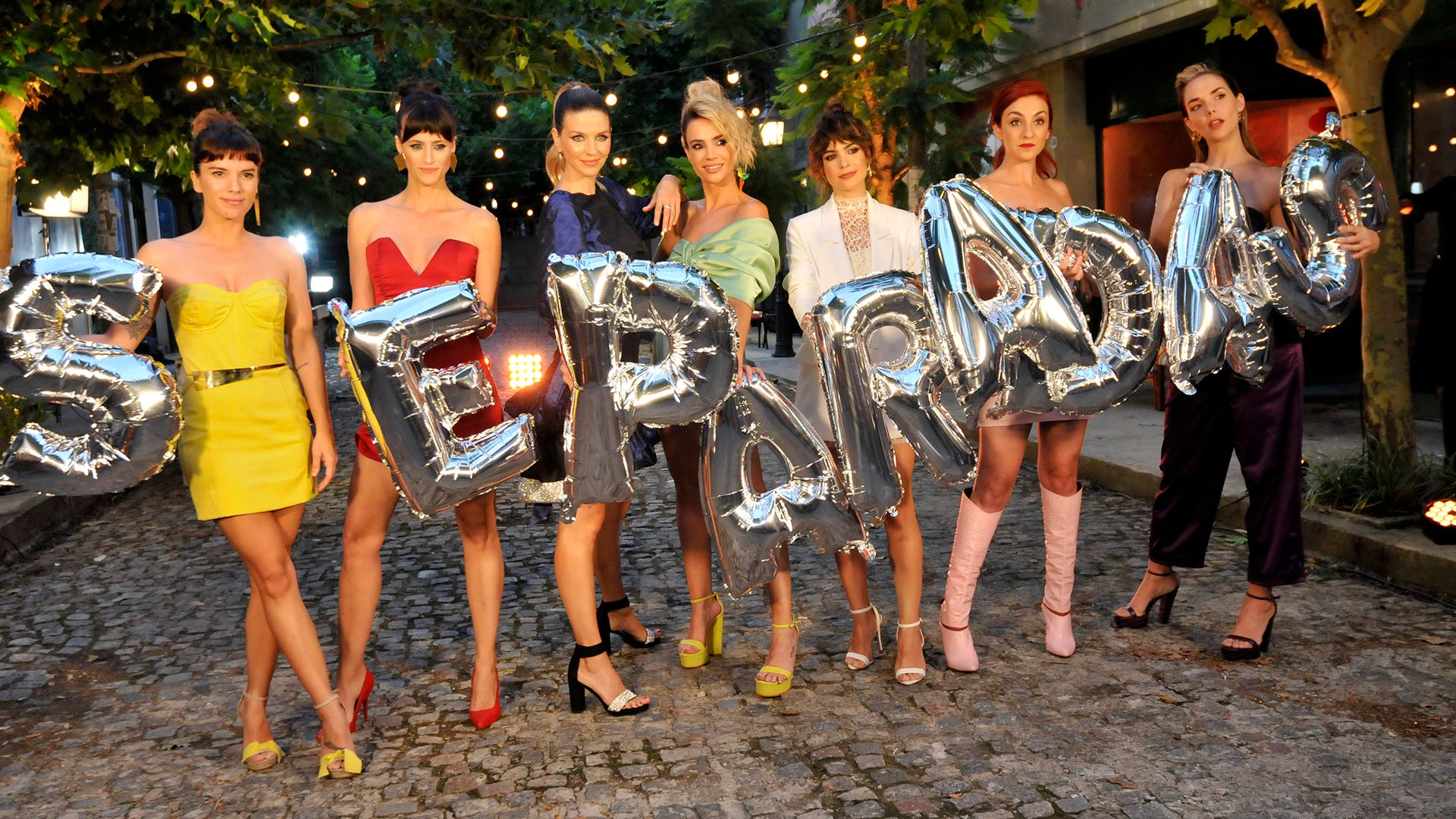 "Las actrices de ""Separadas"" (Crédito: Darío Batallán / Teleshow )"