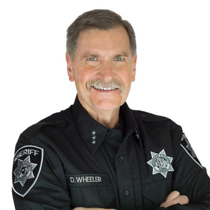 El sheriff Daryl Wheeler (Bonner County Sheriff's Office)