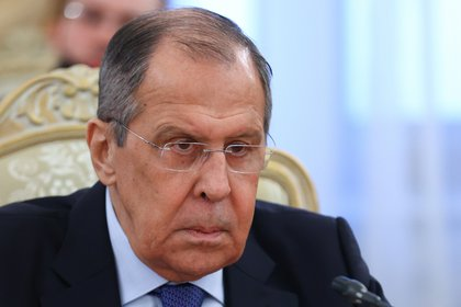 El ministro ruso de Exteriores, Serguéi Lavrov EFE/EPA/RUSSIAN FOREIGN AFFAIRS MINISTRY PRESS SERVICE/HO HANDOUT