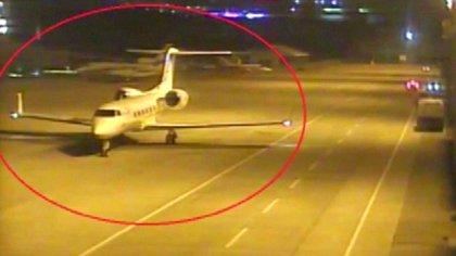 El avión privado que trasladó a los 15 presuntos agentes de inteligencia sauditas a Turquía