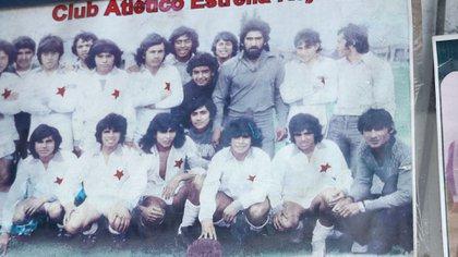 El equipo del Estrella Roja de Fiorito, camada 1960 (Thomas Khazki)