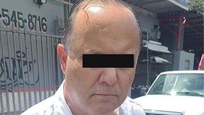 detenido César Duarte (Foto: Twitter@_frankyJalisco_)