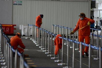 El Aeropuerto de Ezeiza prácticamente no tiene circulación de pasajeros desde que comenzó la pandemia.