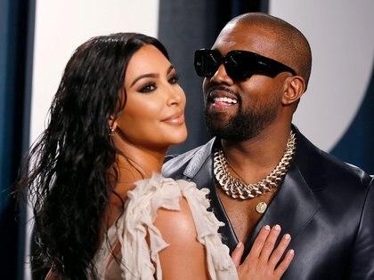 Kanye West le pidió disculpas a Kim Kardashian por revelar detalles privados ( REUTERS)