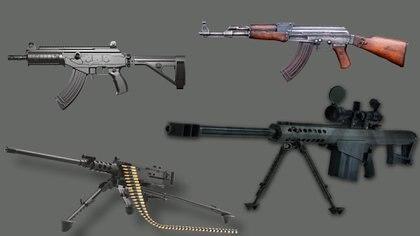 """Armas de """"Rápido y Furioso"""" fueron utilizadas en el asesinato de un agente fronterizo y uno del ICE. (Fotoarte: Steve Allen)"""