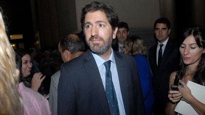 El juez Sebastián Casanello (Adrián Escandar)