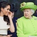 La reina Isabel y Meghan Markle en su primer viaje juntas