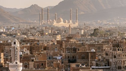 Saná, capital de Yemen (Shutterstock)