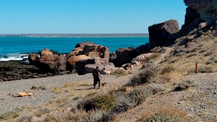 El sitio donde se produjo el atroz ataque contra la turista salteña y su hijo de cuatro años.