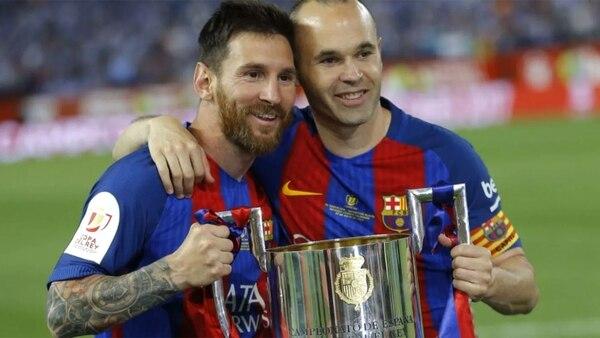 Lionel Messi formó una dupla letal junto a Andrés Iniesta en Barcelona