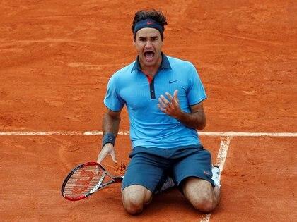 Federer habló de su comportamiento en la cancha - REUTERS/Bogdan Cristel/File Photo