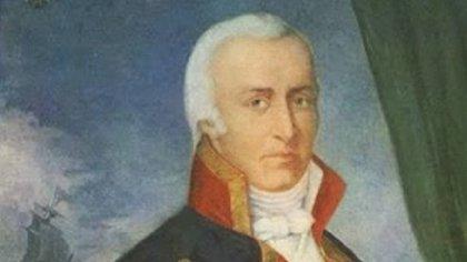Santiago de Liniers fue fusilado y en su reemplazo asumió Baltasar Hidalgo de Cisneros