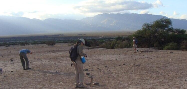 Arqueólogos trabajan en la búsqueda de los restos de la civilización inca en Catamarca (@CTyS_UNLaM)