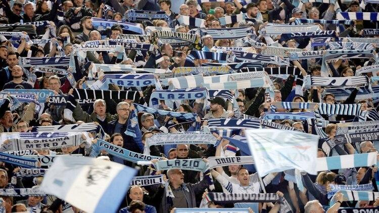 La afición de Lazio es conocida por ser fascista