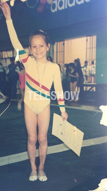 Noelia llegó a competir internacionalmente