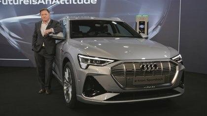 """Conrado Wittstatt, Gerente General de Audi Argentina, aseguró que """"los clientes van a tener sus cargadores propios"""""""