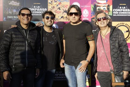 Rubén Ehizaguirre, Álvaro, Kike y Mario Teruel, integrantes de la banda