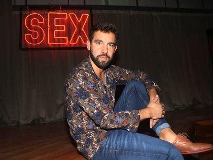 "Agustín formó parte de ""Sex, viví tu experiencia"" (Foto: Veronica Guerman)"