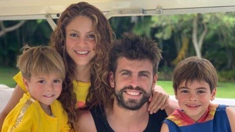 El legendario defensa del FC Barcelona, Gerard Piqué, habló sobre las presiones que sus hijos, junto a la colombiana Shakira, deben vivir por el reconocimiento de sus padres. Foto: Redes