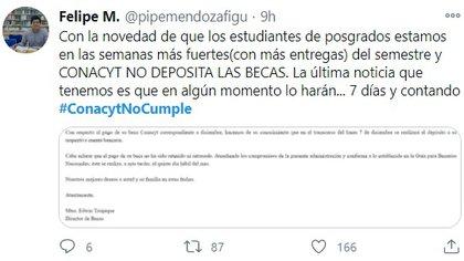 (Foto: Twitter @pipemendozafigu)