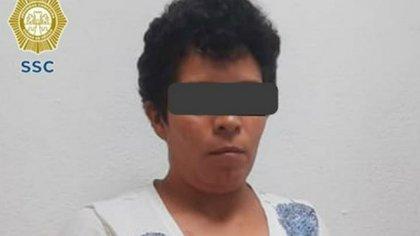 Detuvieron a Big Mama, presunta coordinadora de La Unión Tepito y persona de confianza de El Lunares (Foto: Cortesía SSC-CDMX)