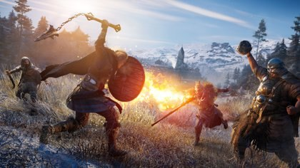 La nueva entrega de la franqucia de asesinos transcurrirá en la época vikinga, sobre tierras británicas y noruegas