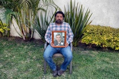 El empresario mexicano Federico de la Torre, hijo del difunto médico Jesús Dionisio de la Torre, poso para una foto en el estado de Morelos, México, el 5 de marzo de 2021.