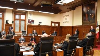 La Primera Sala de la Corte analizará ambos amparos (Foto ilustrativa: Cuartoscuro)